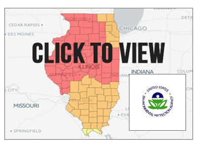 Illinois Radon Map on illinois gold map, illinois selenium map, illinois energy map, illinois mine subsidence map, illinois wetlands map, illinois science map, illinois co map, illinois water map, illinois air quality map, illinois pollution map, illinois well map, illinois soil map,